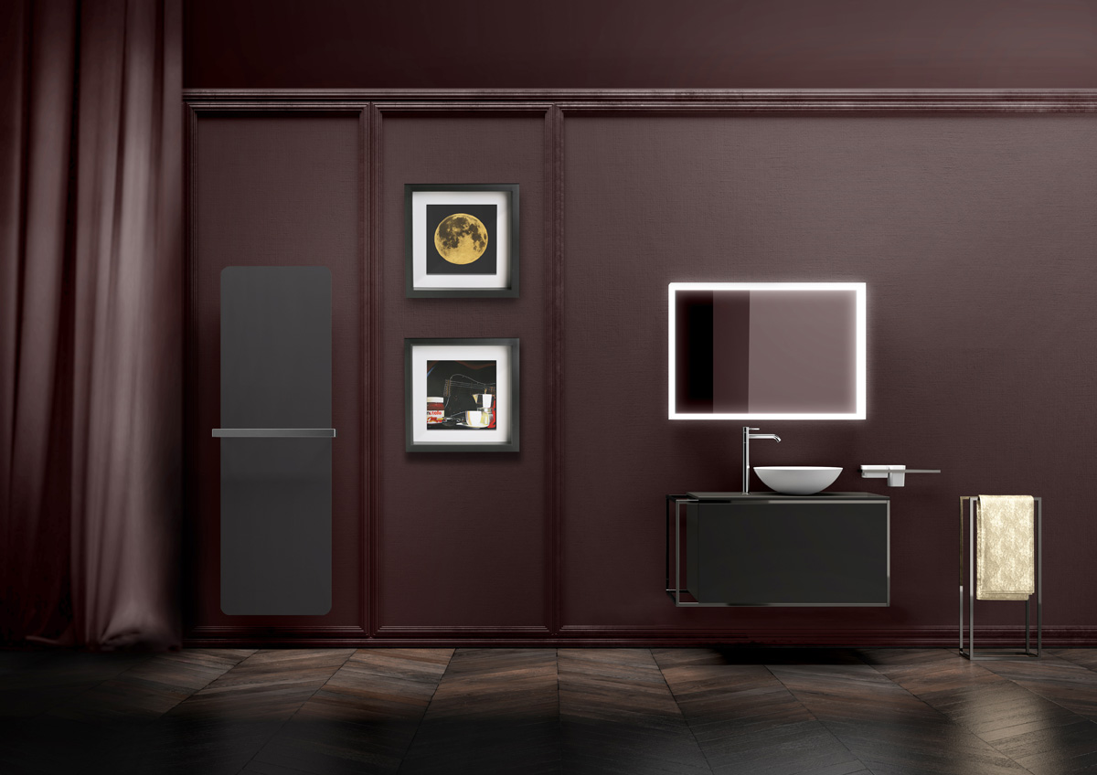 Lineabeta mirrors for bathroom and the charming world of mirrors